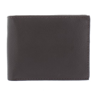 YL Fashion Men's Leather Bi-fold Wallet