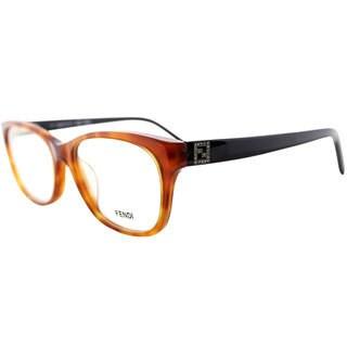 Fendi Womens 1014R 218 Light Havana Eyeglasses