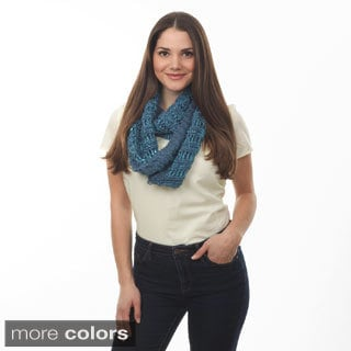 Knitted Infinity Scarf 20 x 11