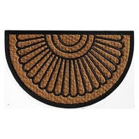 Sun Ponte Coir and Rubber Doormat (1'6 x 2'6)