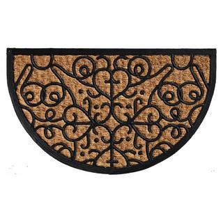 Fantasia Coir and Rubber Doormat (1'6 x 2'6)