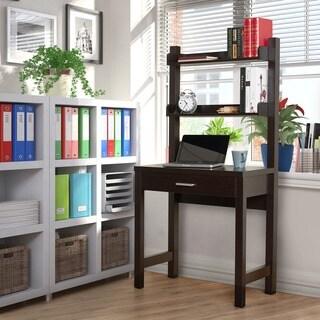 The Gray Barn Elsinora Cappuccino 2-shelf Workstation Desk