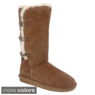 BearPaw LAUREN-1656W Women's Mid Calf Snow Boots