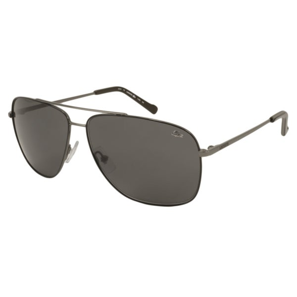 dd5d1441df Shop Lacoste Men s L128S Aviator Sunglasses - Free Shipping Today ...