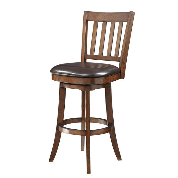 INSPIRED By Bassett Mission 30 Inch Bar Stool