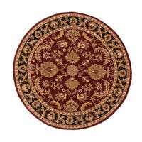 Hand-Tufted Ollie Traditional Border Rug
