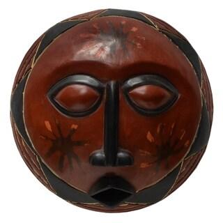 Handmade Adepa Sun Mask (Ghana)