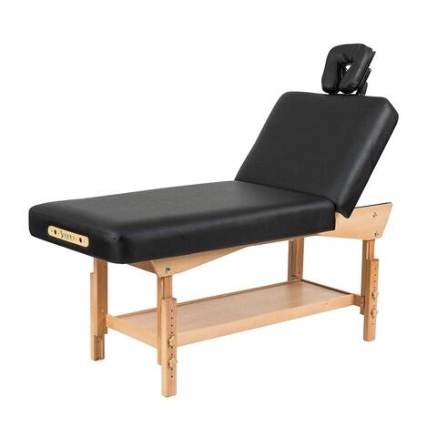 Sierra Comfort Adjustable Backrest Stationary Massage Table