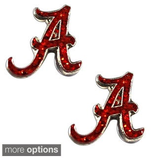 NCAA Glitter Post Stud Charm Earring