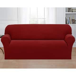basketweave stretch sofa slipcover - Slipcover Sofa