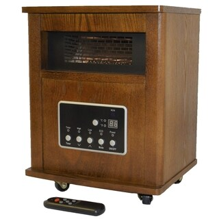Link to American Comfort 1500-watt Espresso Portable Infrared Heater Similar Items in Heaters, Fans & AC