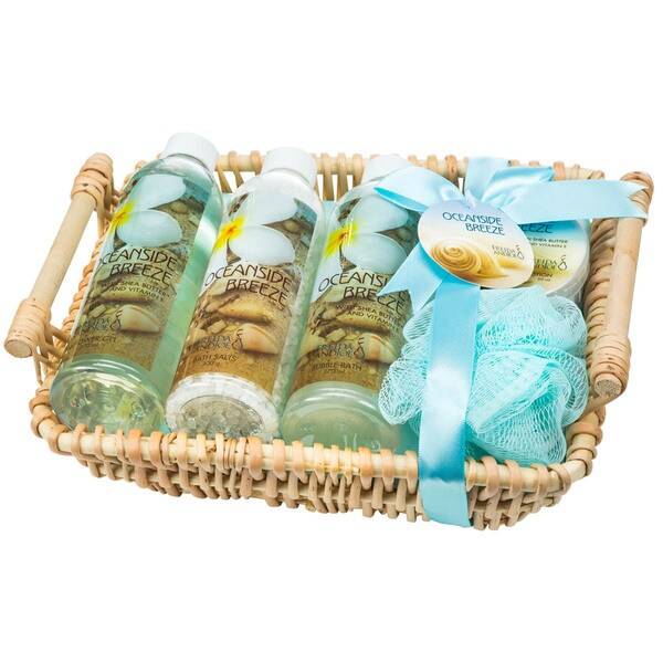 Ocean Side Breeze Shower Basket