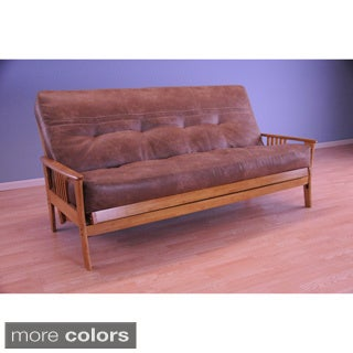Christopher Knight Home Capri Butternut/ Palance Mattress Futon