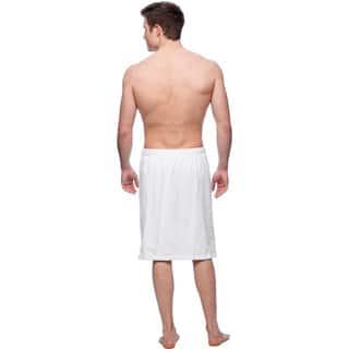 Men's Shower Wrap (Option: White)|https://ak1.ostkcdn.com/images/products/9596744/P16782202.jpg?impolicy=medium