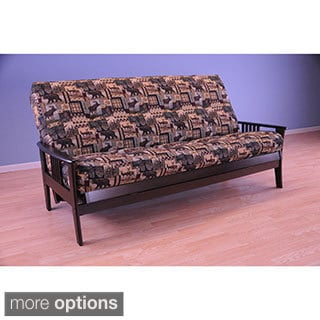 Christopher Knight Home Capri Espresso Futon Frame and Mattress