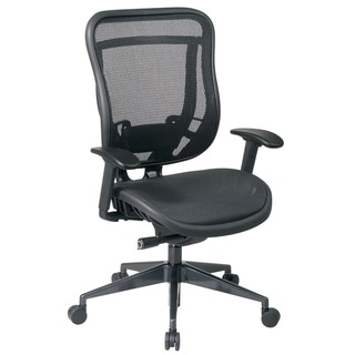 Space 818 Series Black High Back Ergonomic Executive Chair