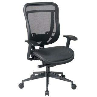 Space 818 Series Black High Back Ergonomic Executive Chair