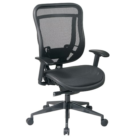 Black High-Back Ergonomic Executive Office Chair