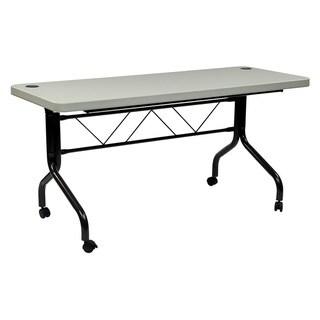5 ft Multi Purpose Flip Resin Training Table