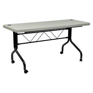 5-foot Multi Purpose Flip Resin Training Table|https://ak1.ostkcdn.com/images/products/9596968/P16782773.jpg?impolicy=medium