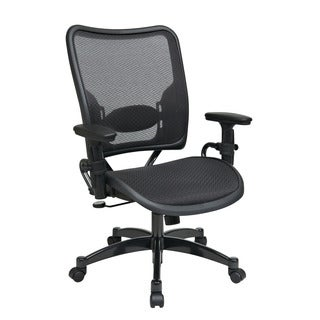 Space 62 Series Deluxe Black Air Grid Back/ Seat Ergonomic Managers Chair