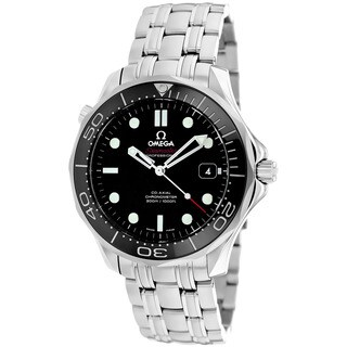 Omega Men's O21230412001003 Seamaster Stainless Steel Watch