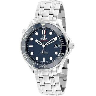 Omega Men's O21230412003001 Seamaster Stainless Steel Watch|https://ak1.ostkcdn.com/images/products/9597054/P16781705.jpg?impolicy=medium
