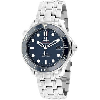Omega Men's O21230412003001 Seamaster Stainless Steel Watch