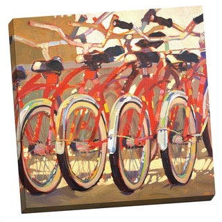 Portfolio Canvas Decor 'Retro Bikes' Large Printed Canvas Wall Art