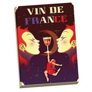 Portfolio Canvas Decor 'Vin De France' Large Printed Canvas Wall Art
