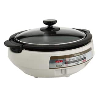 Zojirushi EP-PBC10 Gourmet d'Expert Electric Skillet|https://ak1.ostkcdn.com/images/products/9597107/P16782349.jpg?impolicy=medium