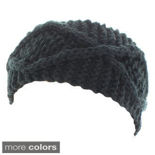 Kate Marie 'Maya' Handcrafted X-Pattern Rib Beanie Headband|https://ak1.ostkcdn.com/images/products/9597141/P16781723.jpg?impolicy=medium