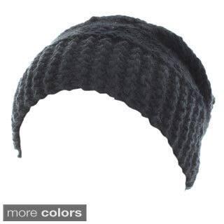 Kate Marie 'Lola' Cable Twist Beanie Headband|https://ak1.ostkcdn.com/images/products/9597145/P16781726.jpg?impolicy=medium