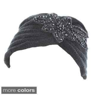 Kate Marie 'Diane' Beaded Floral Patch Headband|https://ak1.ostkcdn.com/images/products/9597146/P16781727.jpg?impolicy=medium