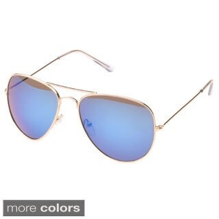 EPIC Eyewear 'Bartonville' Double Bridge Aviator Sunglasses