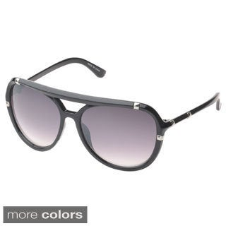 EPIC Eyewear 'Bayville Double Bridge Aviator Sunglasses