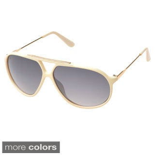 EPIC Eyewear 'Glenville' Double Bridge Aviator Sunglasses