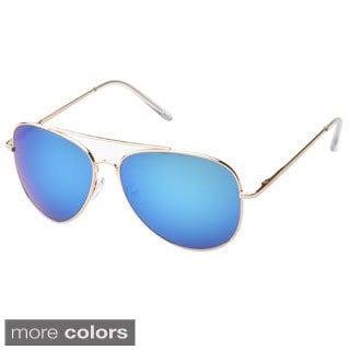 EPIC Eyewear 'Knoxville' Double Bridge Aviator Sunglasses (Option: Yellow)