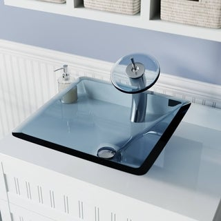 MR Direct 603 Crystal Glass Vessel Sink