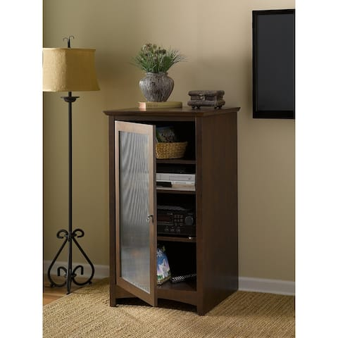 Copper Grove Plovdiv Media Cabinet in Cherry