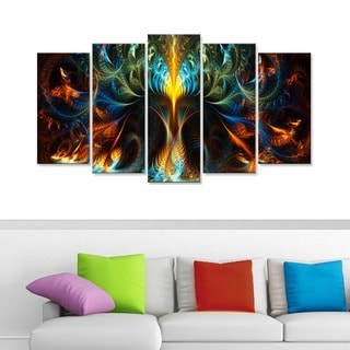 Never Ending' Gallery-wrapped Canvas
