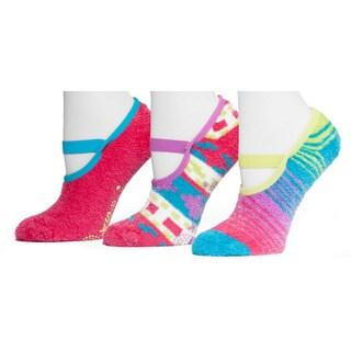 Muk Luks Women's Aloe Maryjane's Sock Pack (3 Pairs)