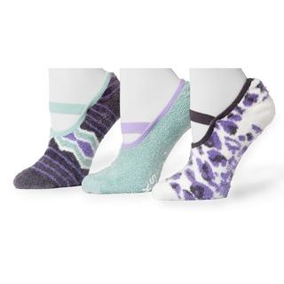 Muk Luks Women's Festival Pattern Maryjane's Sock Pack (3 Pairs)