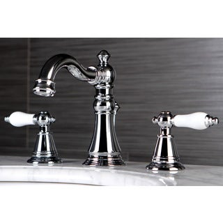 Classic Widespread Chrome Bathroom Faucet