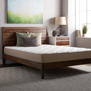Select Luxury Guest Room Medium-firm Full-size Quilted Top 10-inch Foam Mattress