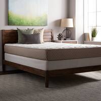 Select Luxury Medium-firm Quilted-top 10-inch Queen Size Foam Mattress and Foundation Set