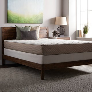 Select Luxury Medium-firm Quilted Top 10-inch Full Size Foam Mattress and Foundation Set