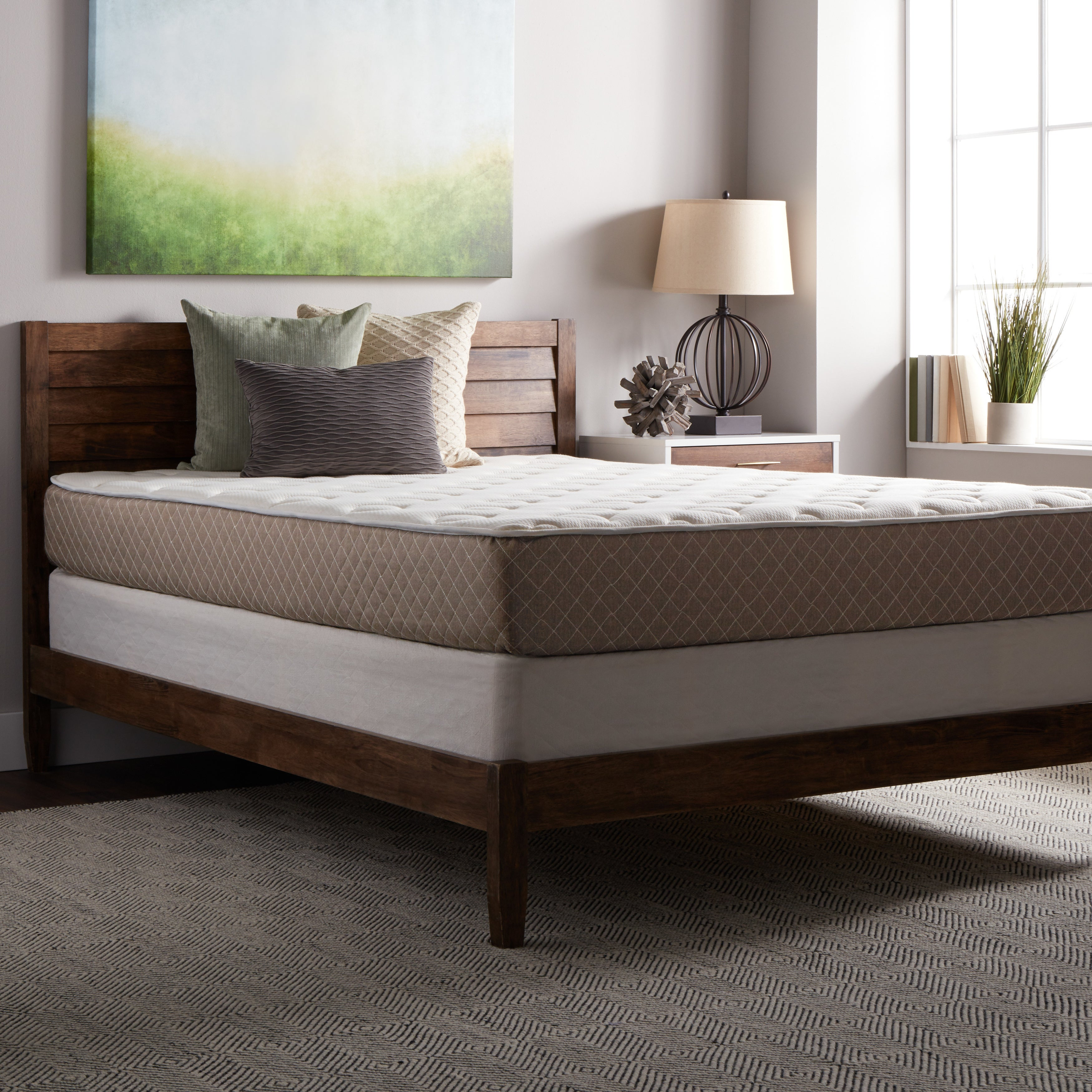 Select Luxury Medium-firm Quilted Top 10-inch King Size F...