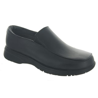 Men's Leather Slip-on School Shoes