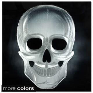 Metal Artscape 'Neon Skull' Large Metal Wall Art (32 x 32)